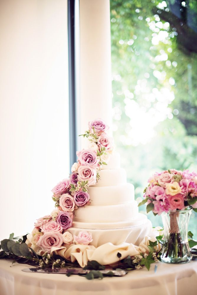 M S Wedding Cake With Flowers Wedding Cakes With Flowers Garden