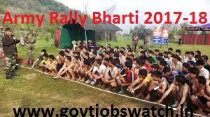 All those candidates who are want to join Indian army can apply now for Indian Army Rally Bharti Schedule 2017-18 Army online registration
