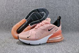 Creative Nike Air Max 270 Flyknit Coral Stardust Black AH6789 600 Women s  Running Shoes Sneakers 81abd3015