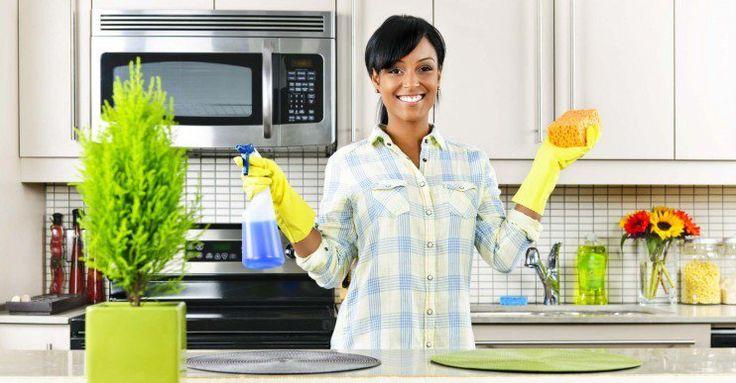 5 pasos para limpiar el microondas