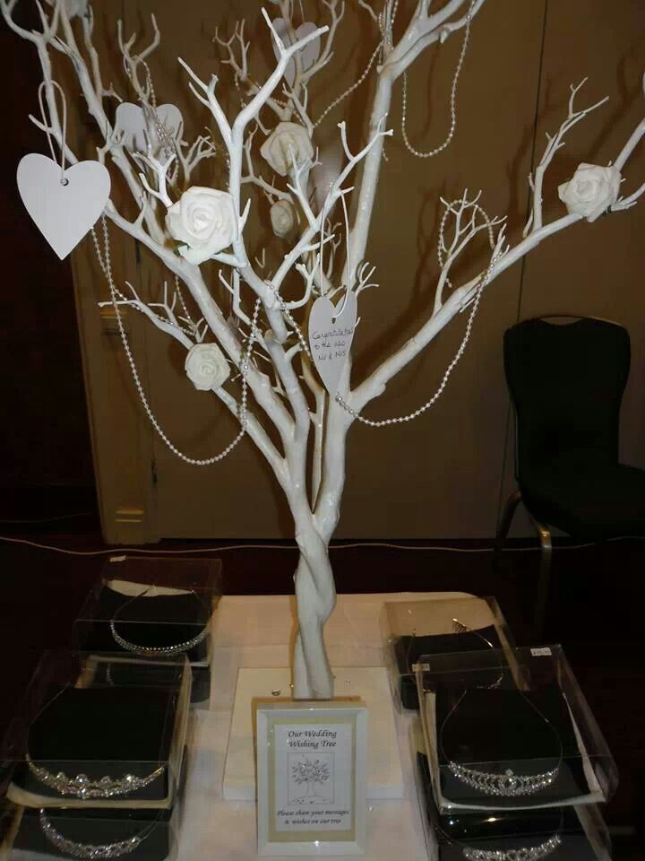 Wedding Wishing Tree And Tiara From Www Rosiecarts Co Uk Trees Pinterest Weddings