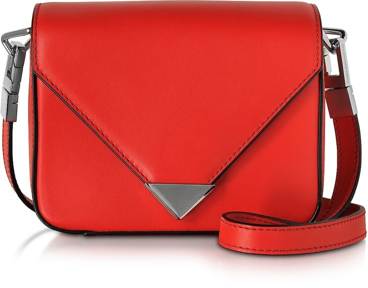 Alexander Wang Mini Prisma Envelope Sling Cult Red Crossbody Bag