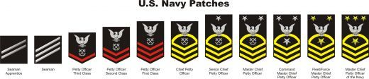 U.S. Navy Patches vectored.