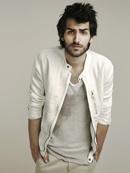 Zara white linen jacket.