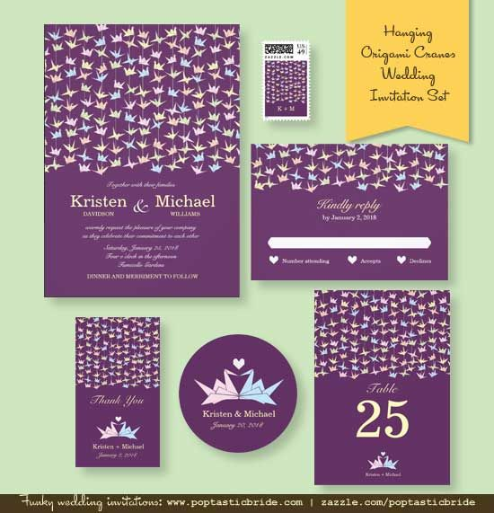 Origami Wedding Invitations: 105 Best Images About Poptastic Bride Invitations On