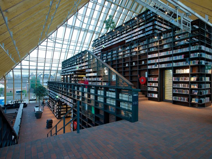 Wienerbeger Brick Award 2014 Nominee: Spijkenisse Book Mountain The  Exterior Of This Library Recalls A Vast, Oversized Single Family House Of  Brick And ... Images