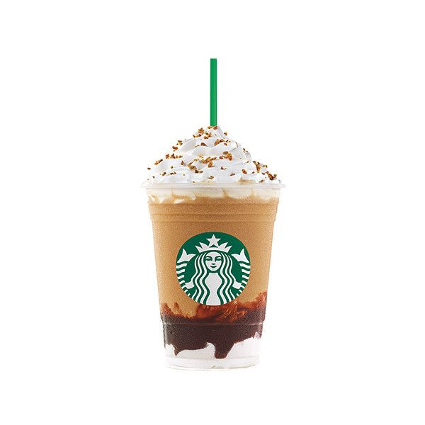 Starbucks' S'mores Frappuccino Flavor Coming for a Limited Time... ❤ liked on Polyvore featuring food, food and drink, drinks, starbucks and accessories