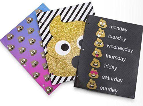 Emoji Poop School Folders Portfolios Emoticon 3 pack set ... https://www.amazon.com/dp/B07472WH24/ref=cm_sw_r_pi_awdb_x_46QDzbR8XS1AN