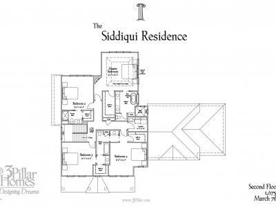 The Siddiqui Residence | Floor Plans | 3 Pillar Homes