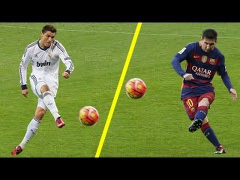 Lionel Messi Vs Cristiano Ronaldo – Top 10 Goles De Tiro Libre en el FÚTBOL   Divertido Viral