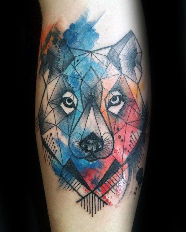 die besten 17 ideen zu wolf tattoos auf pinterest. Black Bedroom Furniture Sets. Home Design Ideas