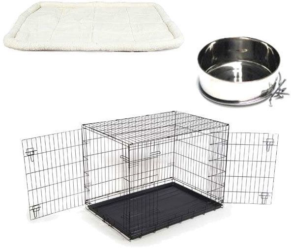 Extra Large Dog Cage Starter Set Travel Crate Mat Food Water Bowl 2 Doors New http://www.ebay.co.uk/itm/Extra-Large-Dog-Cage-Starter-Set-Travel-Crate-Mat-Food-Water-Bowl-2-Doors-New-/252421492375?hash=item3ac57e4e97:g:L60AAOSwMNxXXC0g