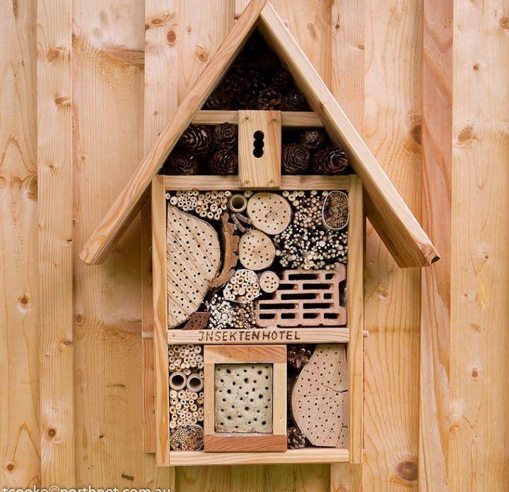 25 Best Insectenhotel Images On Pinterest