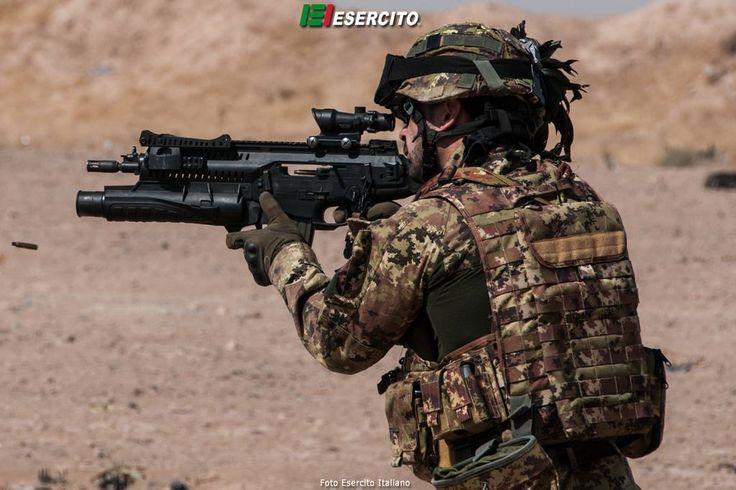 Bersagliere with Bretta ARX-160