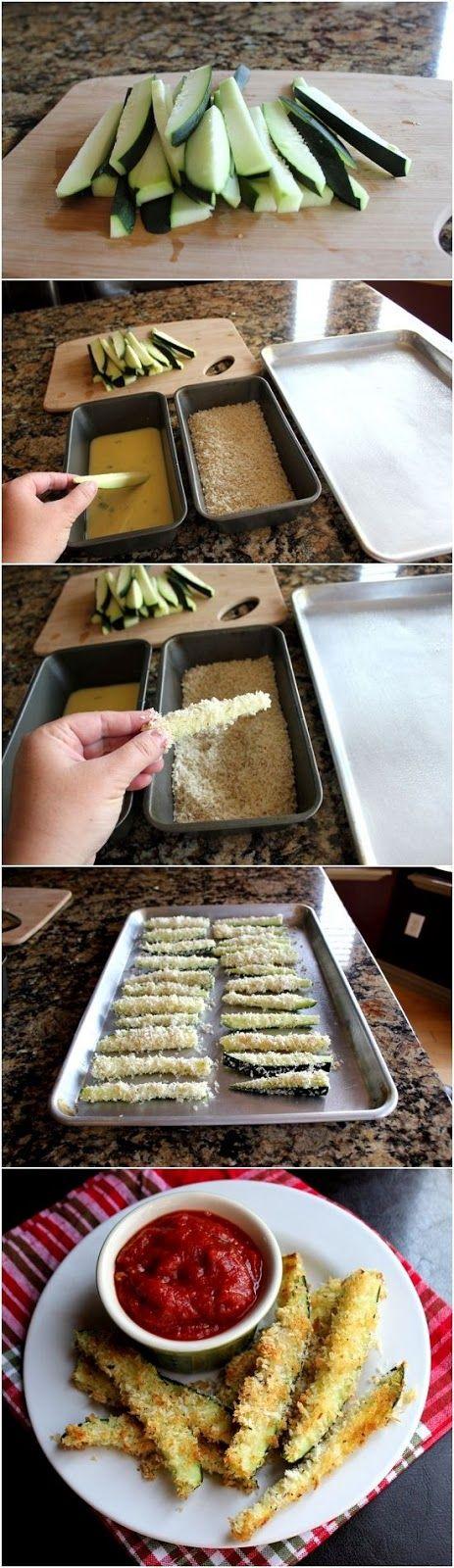 Photo Place: Crispy Baked Zucchini Fries