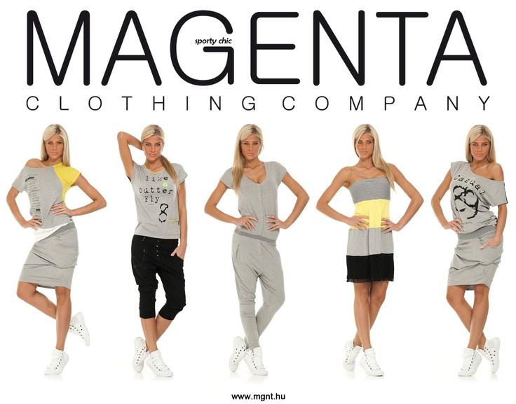 Magenta Sporty Chic