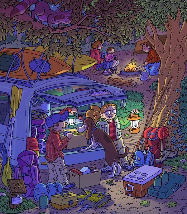(2014-08) Hvad gør de på telttur?