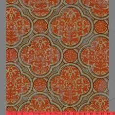 Damask Floral vintage custom wallpaper: 042