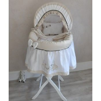Couffin jupon Collection Les petits Oursons