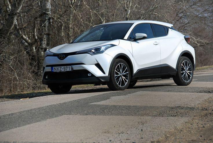Egy Toyota, amit észreveszel – teszteltük a C-HR-t