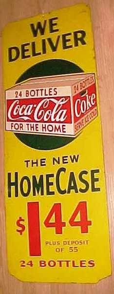 Coca-Cola Sold - Aubrey's Antiques