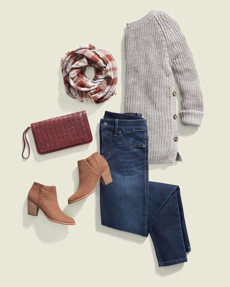 Stitch Fix Stylist:  I would love to receive this RD Style side button sweater, scarf and bag.  So cute for fall!  Thanks, Louisa