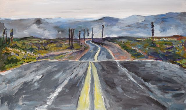 Bob Dylan Paints the American Landscape in a New Exhibition of His Artwork | The Creators Project