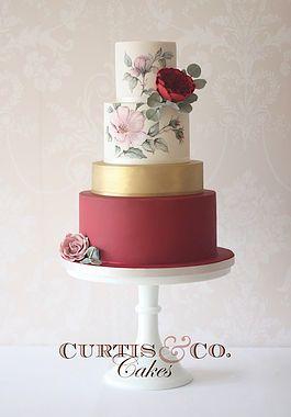 Curtis & Co Cakes | Award Wining Wedding Cakes | Gloucester