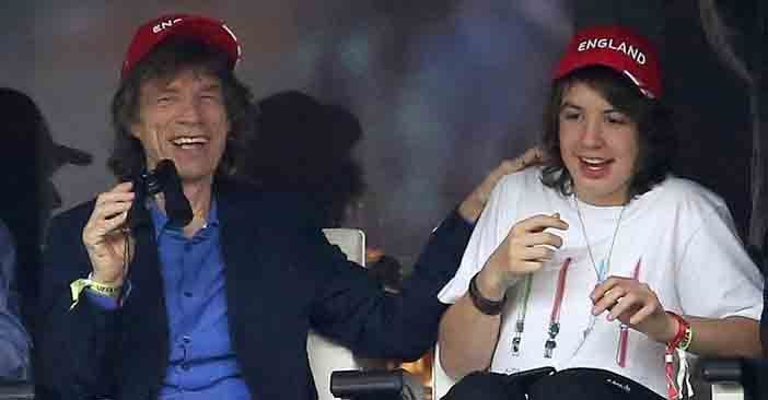 Mick Jagger drops in on son's 18th birthday party in Brazil