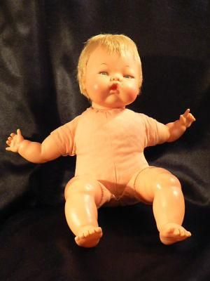 1960s Ideal Toy Corporation 14-inch Thumbelina Doll - All Original - Works