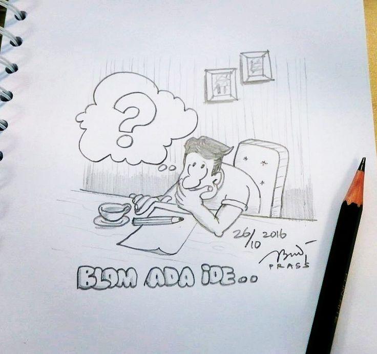 pengen nyeket tapi ga ada ide mau gambar apa?       #iseng #sketch #pencil #sketsa #sketsapensil #karikatur #caricature #pencilsketch #menggambar #gambar #ilustrasi #ilustration #sketching #drawing #art #artwork #seni #senirupa #belajar #belajargambar #cartoon #practice #prasssketch