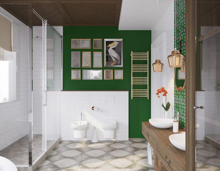 Фиолетовые тюльпаны - Ванная комната: сияние чистого разума | PINWIN - конкурсы…
