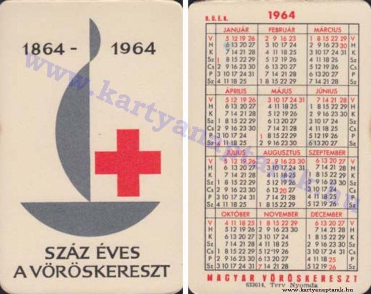 1964 - 1964_0157 - Régi magyar kártyanaptárak