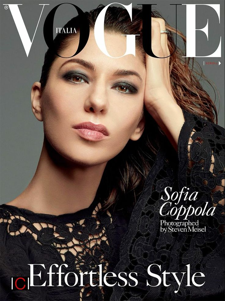 Director Sofia Coppola for VOGUE Italia | MM favourite style icons ...
