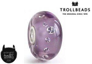 Limited Edition Trollbeads Purple Diamond Bead