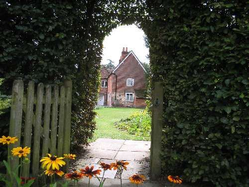 A must on my next trip to England...Beautiful Chawton House from a different perspective.