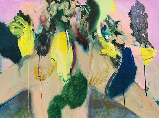 Sneak peek_16 Winston Chmielinski Ritual Healing for the Masses 2014, Öl auf Papier/Oil on paper 40 x 54 cm