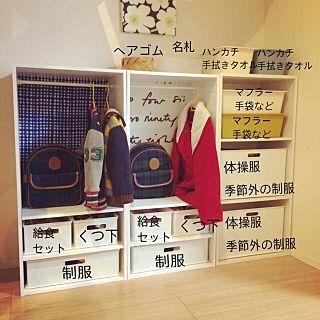 My Shelf/ダイソー/カラーボックス/ニトリ/ホワイト/カラボリメイク...などのインテリア実例 - 2017-02-26 02:11:26