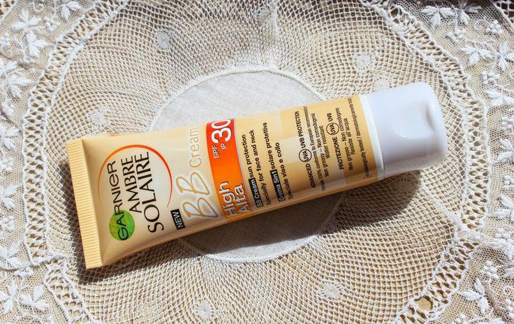 BB Cream Ambre Solaire | Garnier. Full review here: http://livinginbshoes.blogspot.pt/2014/06/bb-cream-ambre-solaire-review.html