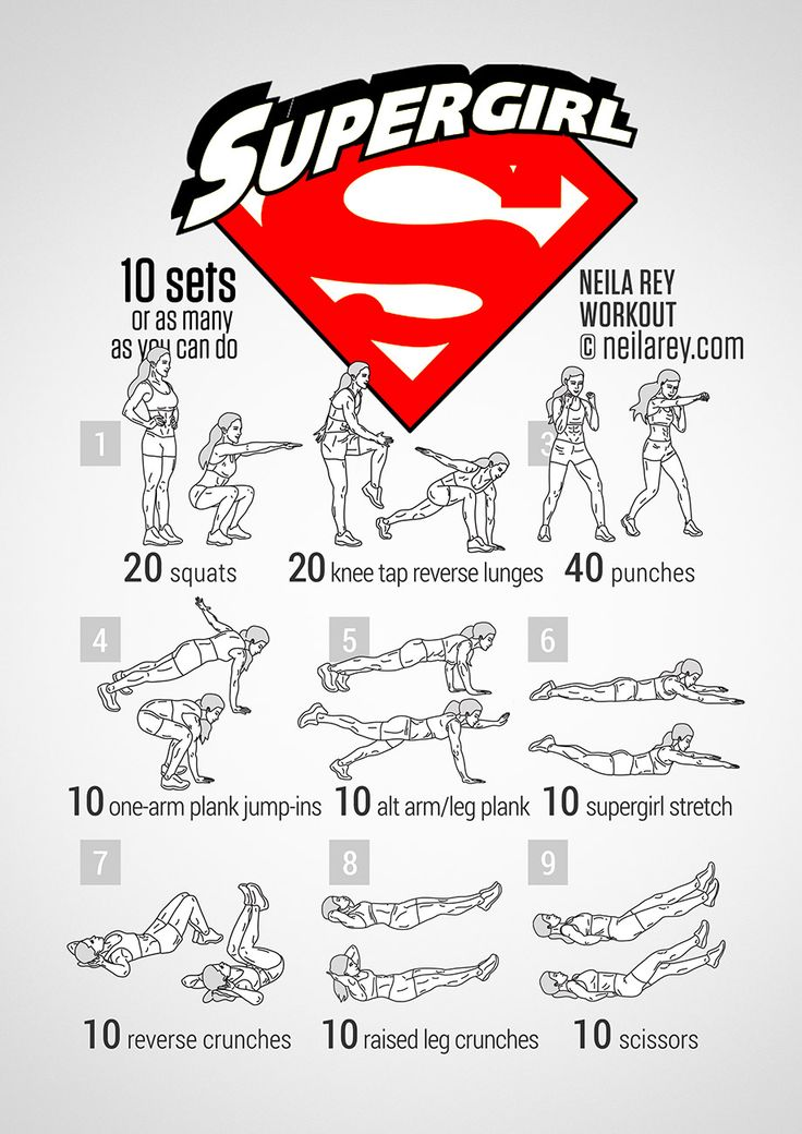 Supergirl Workout ***THANK YOU FOR SHARING***  Follow or Friend me I'm always posting awesome stuff:http://www.facebook.com/tennie.keirn  Join Our Group for great recipes and diy's:www.facebook.com/groups/naturalweightloss1