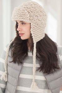 Knit Amelia Earflap Hat