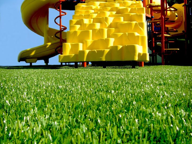 Artificial Turf- Need Safety Surfacing for your playgrounds? Noah's Park & Playgrounds has exactly what you need! - Get a realistic look with the  Artificial Turf! Find What you need at Noah's Park & Playgrounds #playgroundsurfacing #surfacing #playgrounds