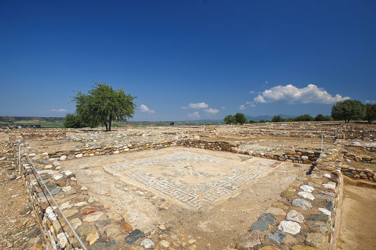 Ancient Olynthos, Halkidiki, Greece