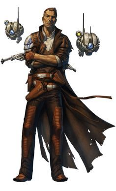 Could make a good rigger NPC or character concept for
