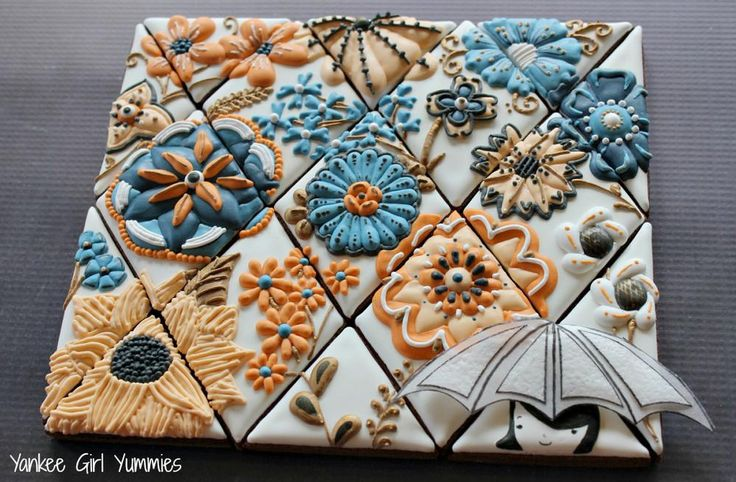 Raining Flowers | Cookie Connection I don't like the design, but the ...