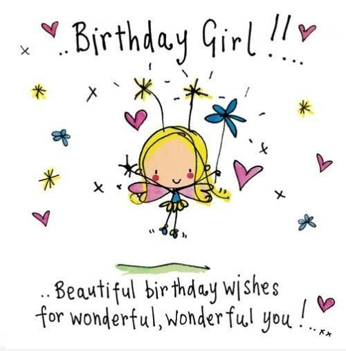 Happy Birthday Wishes for your Girl