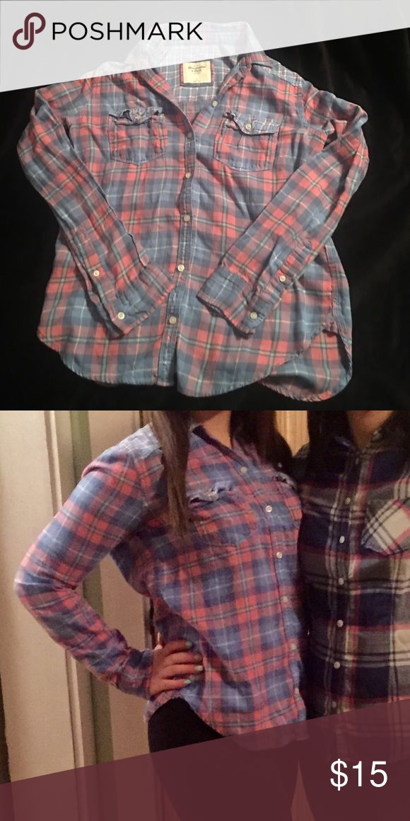 Abercrombie & Fitch Flannel Gorgeous flannel only worn a couple times in excellent condition Abercrombie & Fitch Tops