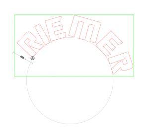 tekst om de cirkel gevouwen Nederlands, NL tutorial, howto voor de silhouette Cameo
