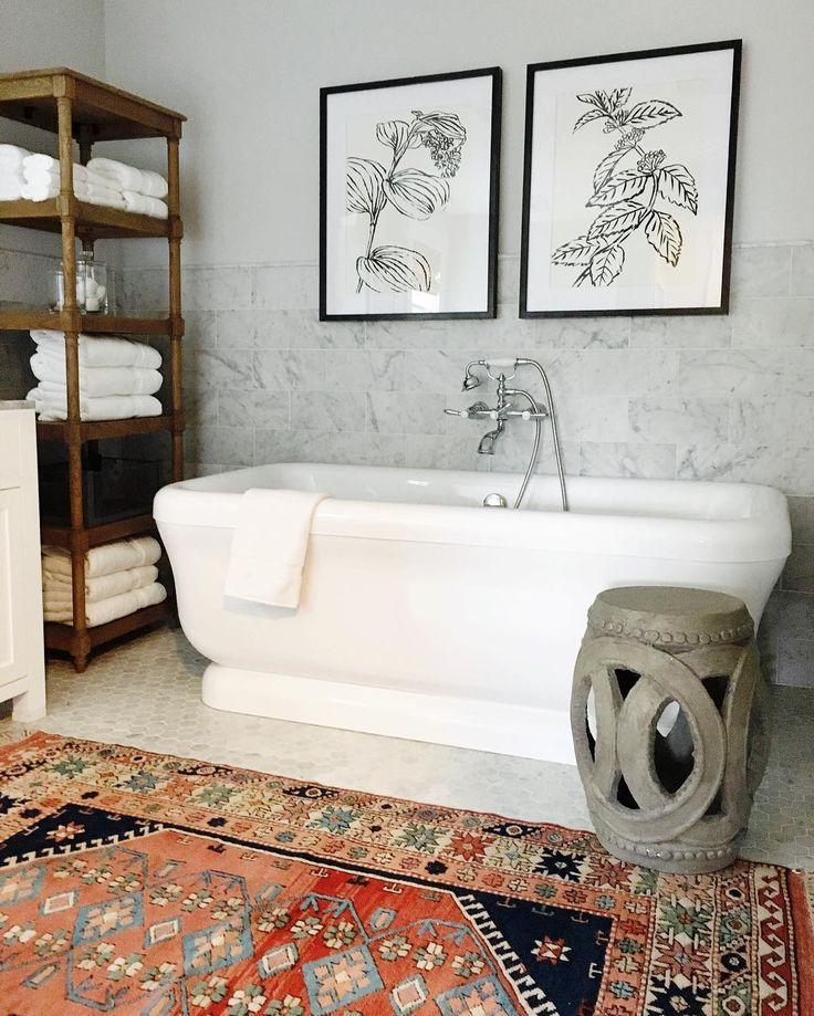 Patterned rug || www.studio-mcgee.com