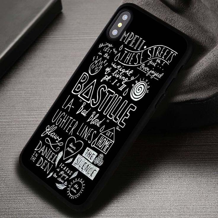Bastille Lyrics Collage - iPhone X 8  7 6s SE Cases & Covers #music #bastille #phonecase #phonecover #iphonecover #iphonecase #iPhone4case #iPhone4S #iPhone5case #iPhone5C #iPhone5S #iPhoneSE #iPhone6case #iPhone6Plus #iPhone6s #iPhone6sPlus #iPhone7case #iPhone7Plus #iphoneXcase #iphoneX #iphone8case #iphone8plus